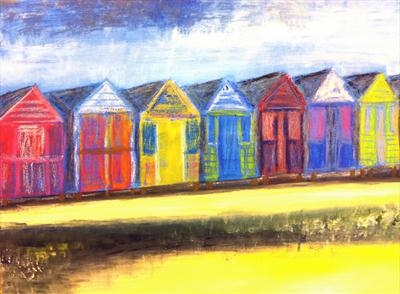 Beach Huts at Mersea