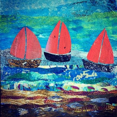 Red Sails Collage