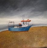 Beached by Jane Watson, Painting, Acrylic on canvas