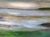 Seascape by Jane Watson, Painting, Acrylic on canvas