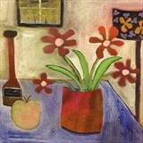 Still Life by Jane Watson, Painting, Acrylic on canvas