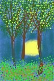 Sunset Through the Trees by Jane Watson, Giclee Print, Ipad Art