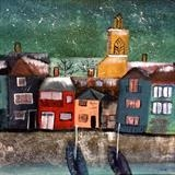 Wivenhoe by Jane Watson, Painting, Acrylic on canvas