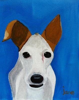 Rosie by Jane Watson, Painting, Acrylic on canvas